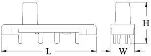 FS-010, FS-030 fuse holder indicators