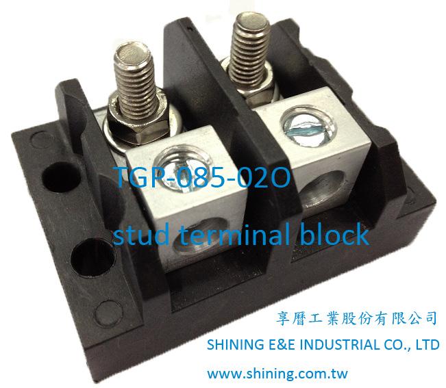 TGP-085-02P stud terminal block